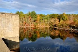 October Foliage Goose Cove Reservoir Gloucester Ma 1