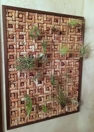 orchid basket made of wine corks corks orchids tillandsia