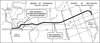 new highway 7 u2013 kitchener to guelph u2013 detailed design for new