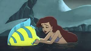 mermaid 2 ariel flounder morgana u0027s lair