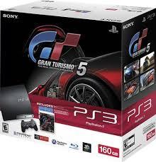 ps3 gaming console playstation 3 160gb gran turismo 5 bundle consoles