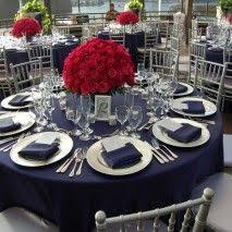 navy blue table linens silver and blue table setting table linens chair covers