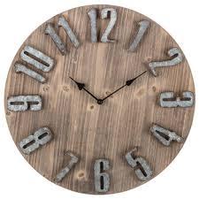 rustic wood wall clock hobby lobby 1453224
