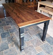 how to stain pine table custom pine square leg farm table by flying pigs