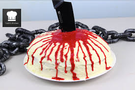 Halloween Chocolate Cake Recipe Halloween Blood Cake Youtube