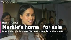 meghan markle toronto meghan markle u0027s toronto home is for sale for 812k video