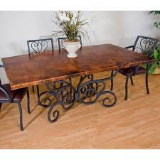 Copper Dining Room Tables Copper Dining Room Tables Large And Beautiful Photos Photo To