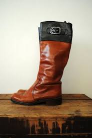 womens flat boots size 9 womens leather boots flat boots vintage brown boots size