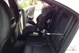 mercedes baby car seat child seat won t fit 2014 mercedes cla250 term road test