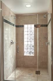 glass block designs for bathrooms glass block window in shower bathroom eclectic with none