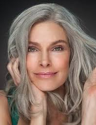 models with grey hair google search art and photography