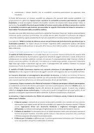 riassunti contabilità e bilanci enti e aziende pubbliche docsity