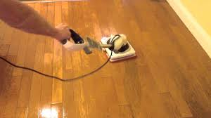 Laminate Flooring Polish Shark Sonic Duo Hardwood Polishing Demo Youtube