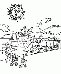 summertime vacation coloring page for kids seasons coloring pages