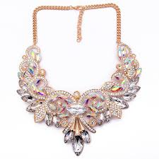 vintage crystal statement necklace images Best lady new spring colorful crystal women brand maxi statement jpg