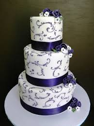 wedding cake murah purple vines and flowers wedding cake stephaniethebaker co flickr