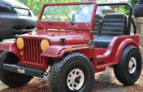 maroon jeep solidworks u0026 stratasys put the pow back in power wheels part 2