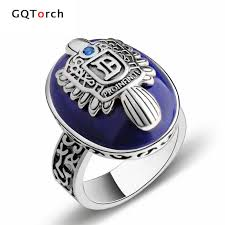 real stone rings images The vampire diaries rings real 925 sterling silver damon salvatore jpg