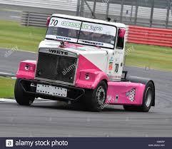 volvo white truck brian burt volvo white british truck racing championship stock