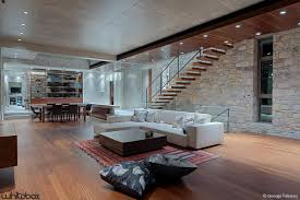 Stone Wall Living Room by Living Room Picture Of Modern Living Room Decoration Using