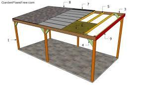 carport building plans building a wooden carport diy outdoor projects pinterest