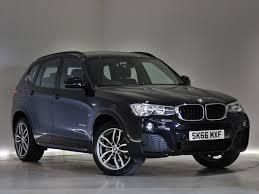 bmw x3 m sport black 2016 bmw x3 diesel estate xdrive20d m sport 5dr auto