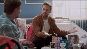 Ryan Gosling Acts Out Hey Girl Meme - ryan gosling flips out over hey girl meme in new video with