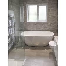 tiled baths strata grey tiled bathroom finishing touches