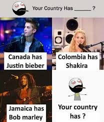 Colombia Meme - dopl3r com memes your country has canada has justin bieber