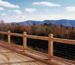 installing cable railing jlc online framing natural metals
