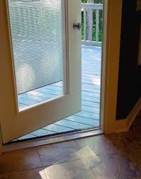 odl glass door window treatment enclosed door blinds photo gallery