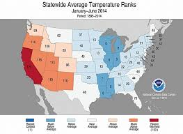 United States California Map by Six Months In And Sizzling California Sets Record Climate Central