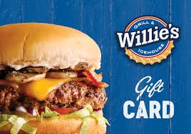 fast food gift cards gift cards willie s grill and house