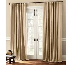 exterior door with window curtains ideal treatment for exterior