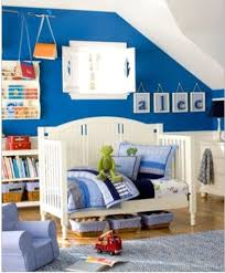 Blue And Brown Bedroom by Dark Blue Bed Covers Brown Wooden Low Bed Frame Boys Bedroom Paint