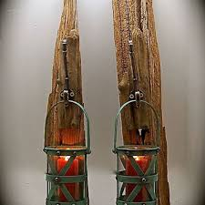 Rustic Sconce Driftwood Sconce With Turquoise From Beachdazzled On Etsy Quick