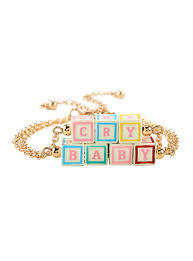 Baby Name Plate Bracelet Melanie Martinez Crybaby Nameplate Necklace Topic