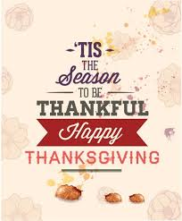 free vector season to be thankful happy thanksgiving poster vector