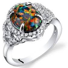 opal gemstone rings shop the best deals for dec 2017 overstock com