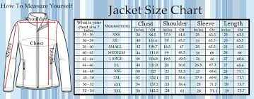 men jacket size chart super hero jackets movies jacket u0026 men