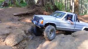 1988 lifted jeep comanche 88 jeep comanche mj on the waterfall in tillamook oregon state