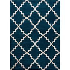 well woven sydney lulu u0027s lattice trellis navy blue 7 ft 10 in x