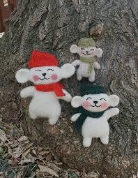 10 free knit ornament patterns