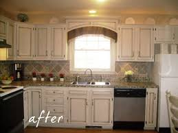 redo kitchen cabinets 17 dollar kitchen redo painted counter tops cornice and