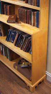 monticello u0027s stacking bookcases popular woodworking magazine