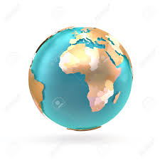 Map Of The World With Continents by 3d Globe Map Of The World Continents And Countries Globe With