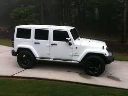 white 4 door jeep wrangler buy used 2012 jeep wrangler loaded leather 4 door in