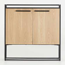 horizontal kitchen storage cabinets storage cabinets and display cabinets crate and barrel