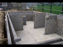 How To Build A Wall In A Basement by How To Build A Basement How To Build A Basement And Foundation