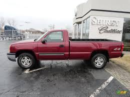 Chevy Silverado Work Truck 4x4 - red 2004 chevy silverado 1500 4x4 2004 chevrolet silverado 1500